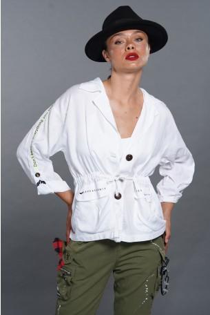 חולצת עליונית לבנה PICTURES
