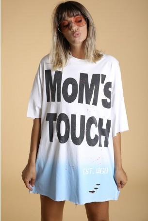 חולצת T  רחבה MoM's