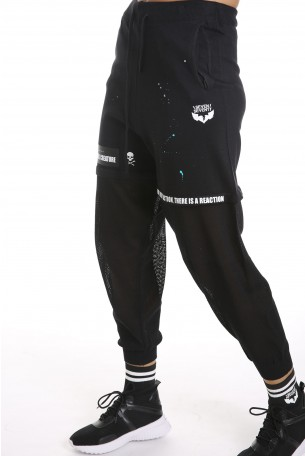 מכנסי רשת שחורים CREATURE
