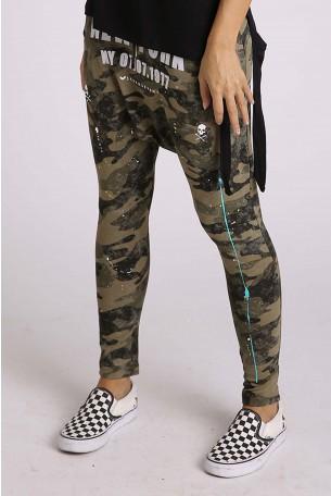 מכנסי שקי בצבעי הסוואה NEW YORK