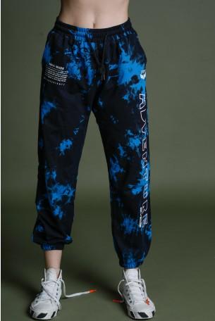 מכנסי פוטר בגווני שחור וכחול ADVENTURE
