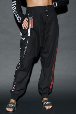 מכנסי שקי שחורים TRAINING