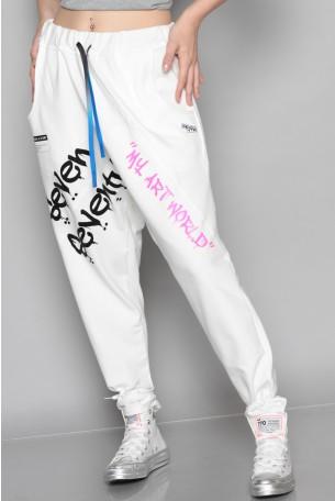 מכנסי פוטר שקי לבנים ART