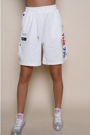 מכנסי ברמודה פוטר לבנים טיקטקים THE 770