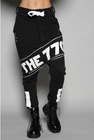 מכנסי פוטר שקי שחורים THE 770