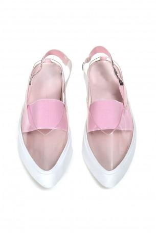 נעלים שקופות  PINK CANDY