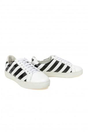 נעלי סניקרס לבנות  פסים BLACK STRIPE