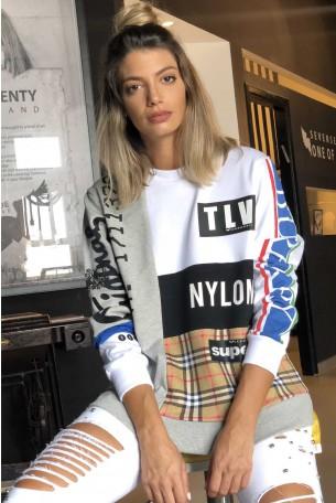 חולצת פוטר צבעונית TLV