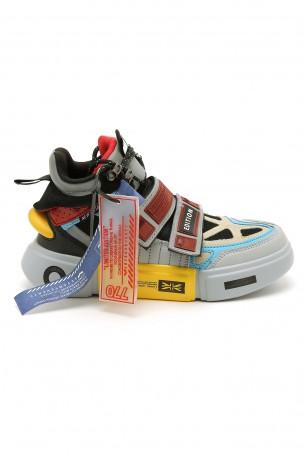 נעלי סניקרס גבוהות צבעוניות EDITION