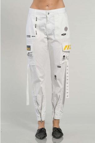 מכנסי דגמח לבנים  MAGIC