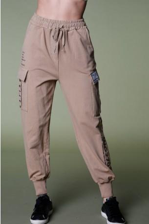 מכנסי פוטר חומים   PLAYING