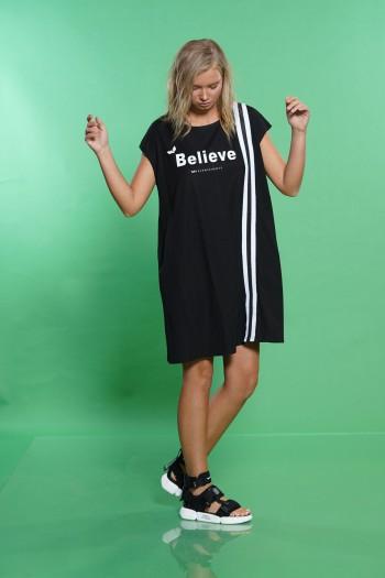 שמלה שחורה BELIEVE