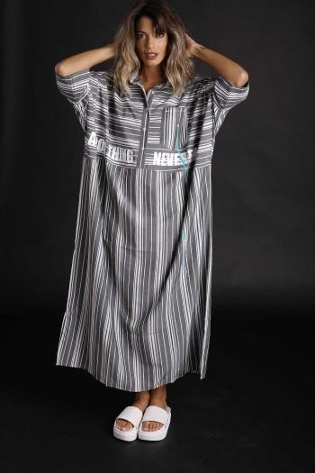 שמלת גלביה פסים GOOD THINGS
