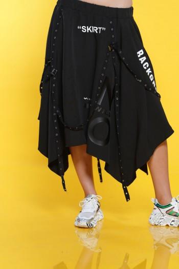 חצאית אורכים רצועות SKIRT