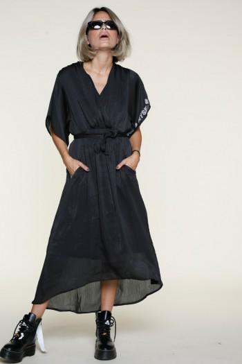 שמלה  שחורה אלגנטית   MYSELF