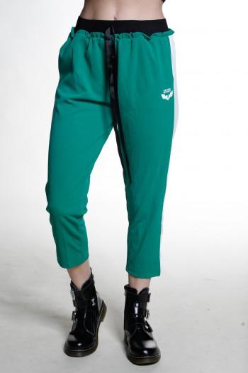 מכנסי ג'וגר שבע שמיניות ירוקים SEVEN