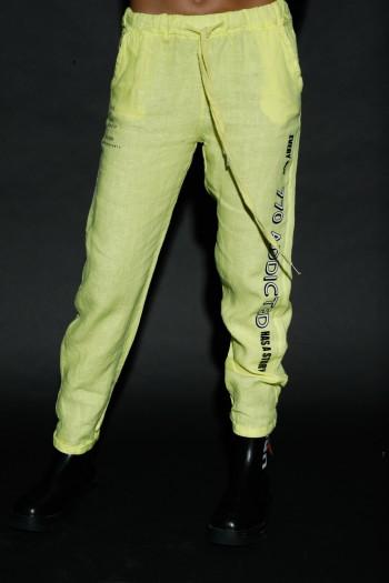 מכנסי פשתן צהובים ADDICTED