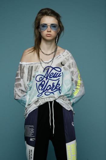 חולצת טאי דאי NEW YORK