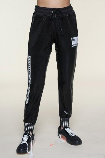 מכנסי נצנצים שחורים SUPER 770