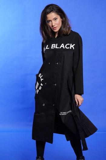 שמלה שחורה ALL BLACK