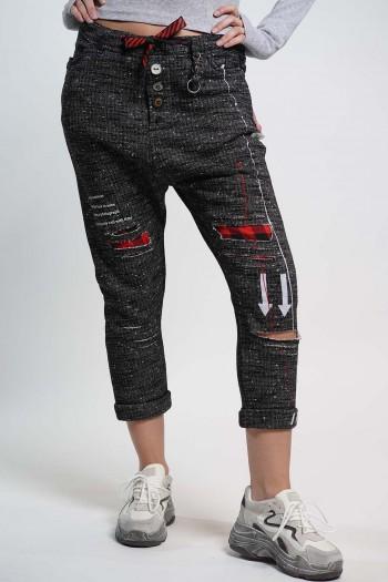 מכנסיי טלאים מעוצבים ERROW