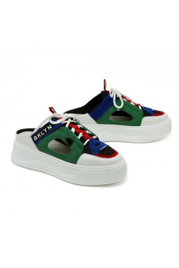 נעלי סניקרס צבעוניות פתוחות NYC