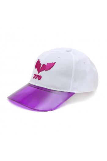 כובע סגול לבן 770