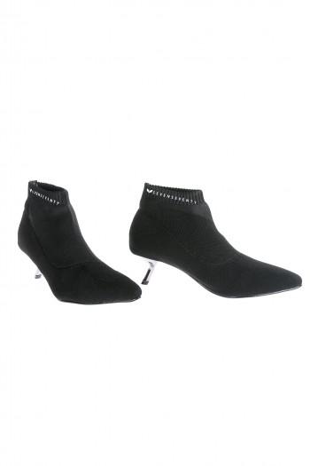 נעלי מגפון שפיץ שחור CHIC