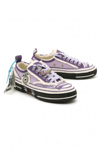 נעלי סניקרס סגולות בגזרה נמוכה STAR