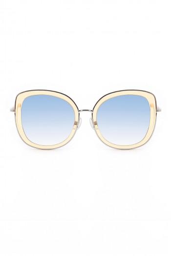 משקפי שמש מסגרת בגוון צהוב בהיר BEST