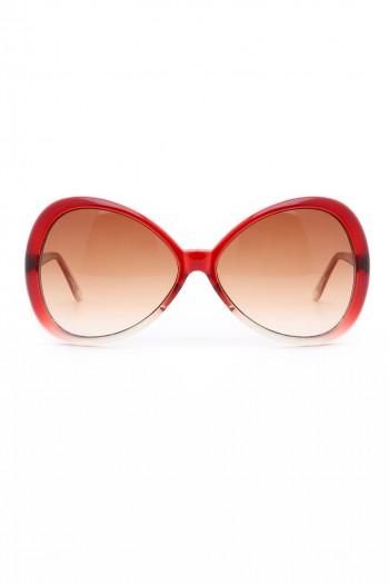 משקפי שמש מסגרת אדומה SUPER GIRL