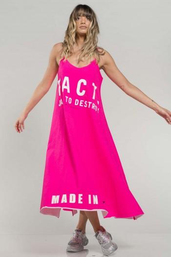 שמלת גופייה ורודה FACT