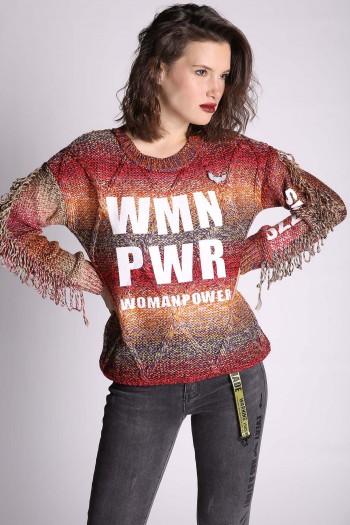 סריג שרוולי פרנזים WMN PWR