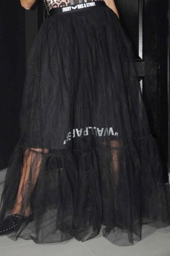 חצאית טול שחורה NIGHT GLAM