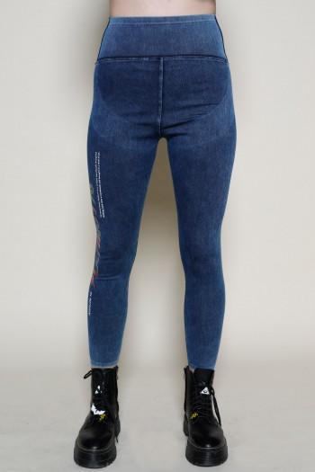 מכנסי טייטס בגוון ג'ינס כחול  PLAYING