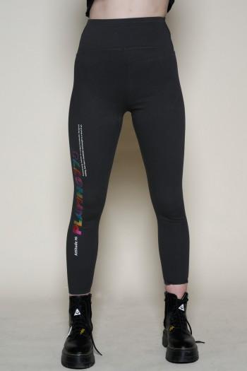 מכנסי טייטס ג'ינס שחור  PLAYING