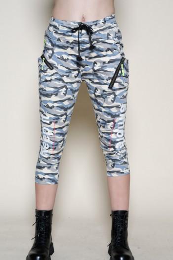 מכנסיים בגזרת ג'וגר בצבעי הסוואה KEEP IT